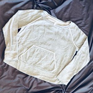 GAP Relaxed Sweatshirt with Front Pocket